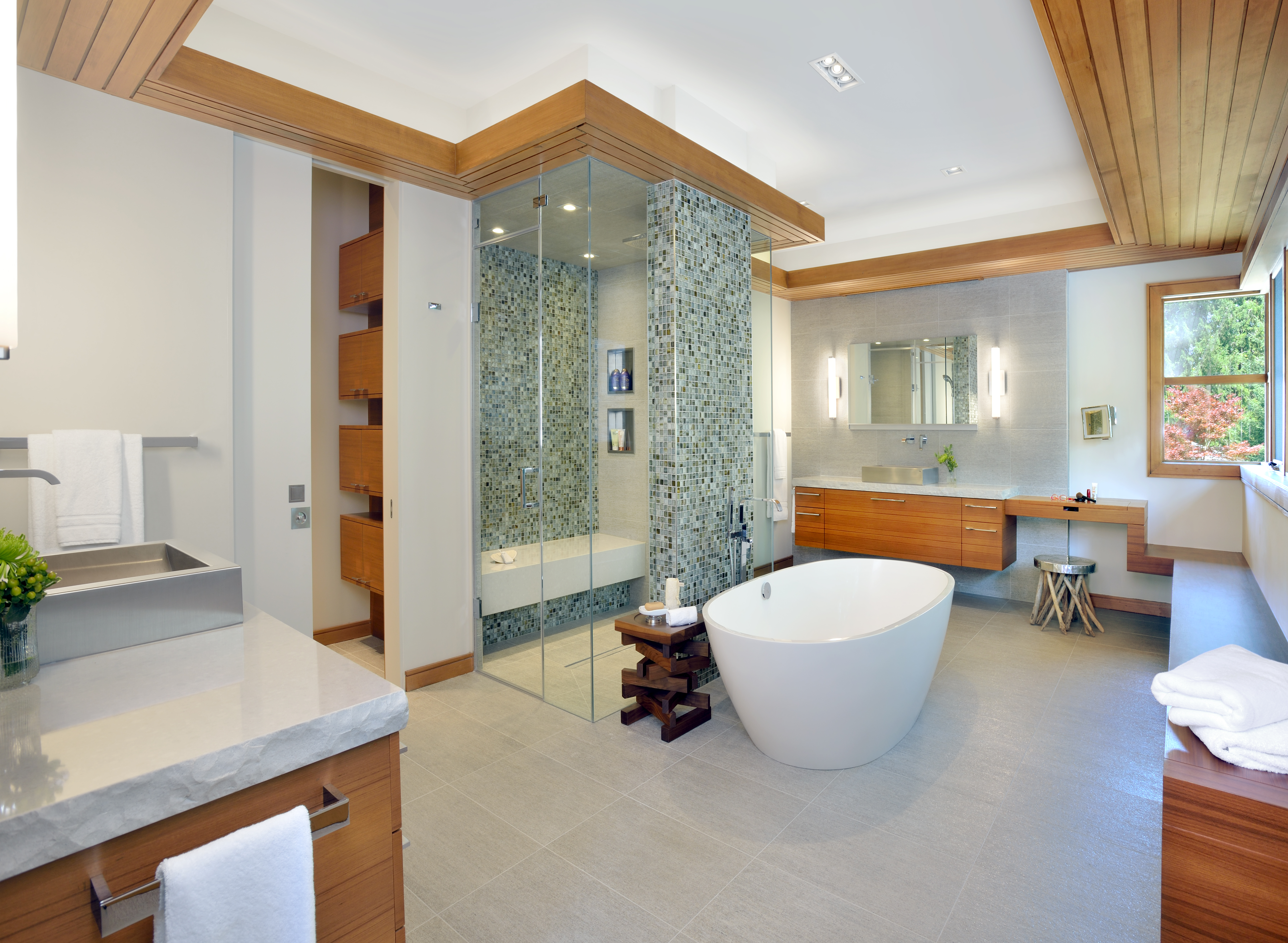 Ensuite Bathroom Walk In Wardrobe baths: made to order   custom builder