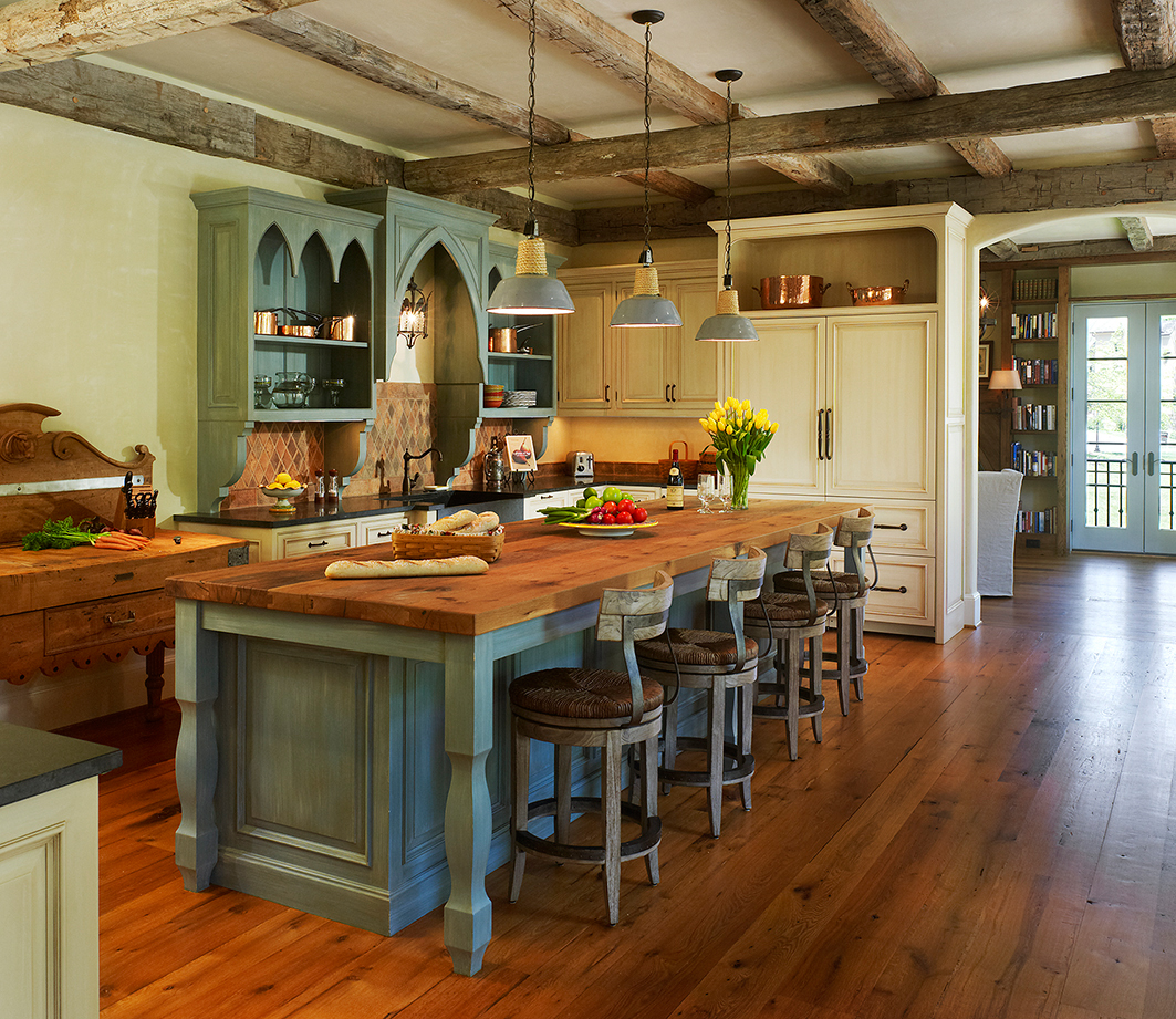 Uncategorized Kitchen Cabinets That Look Like Furniture make custom kitchens and baths pencil out builder suggesting an informal french cottage kitchen this space has cabinets in a mix of styles colors that look like freestanding furniture