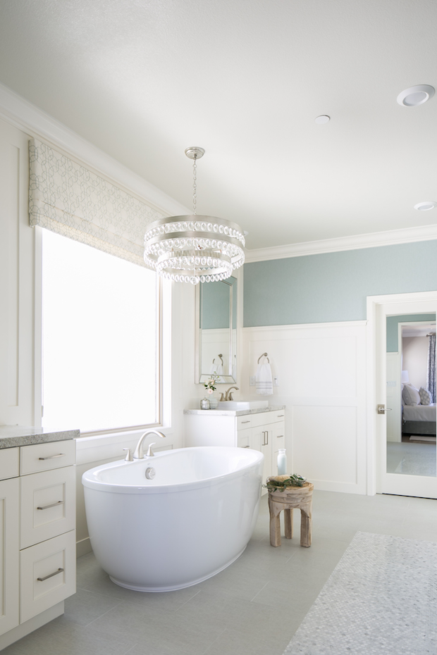 Master Suite Bath designed by Tracy Lynn Studio