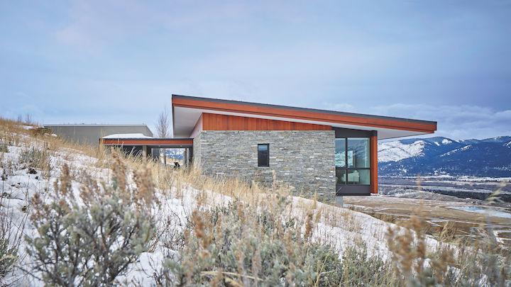 Ridge_house_profile_Jackson_Hole, Wyoming