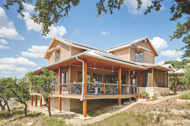 Custom homes just for the two of us custom builder for Hill country contemporary architecture