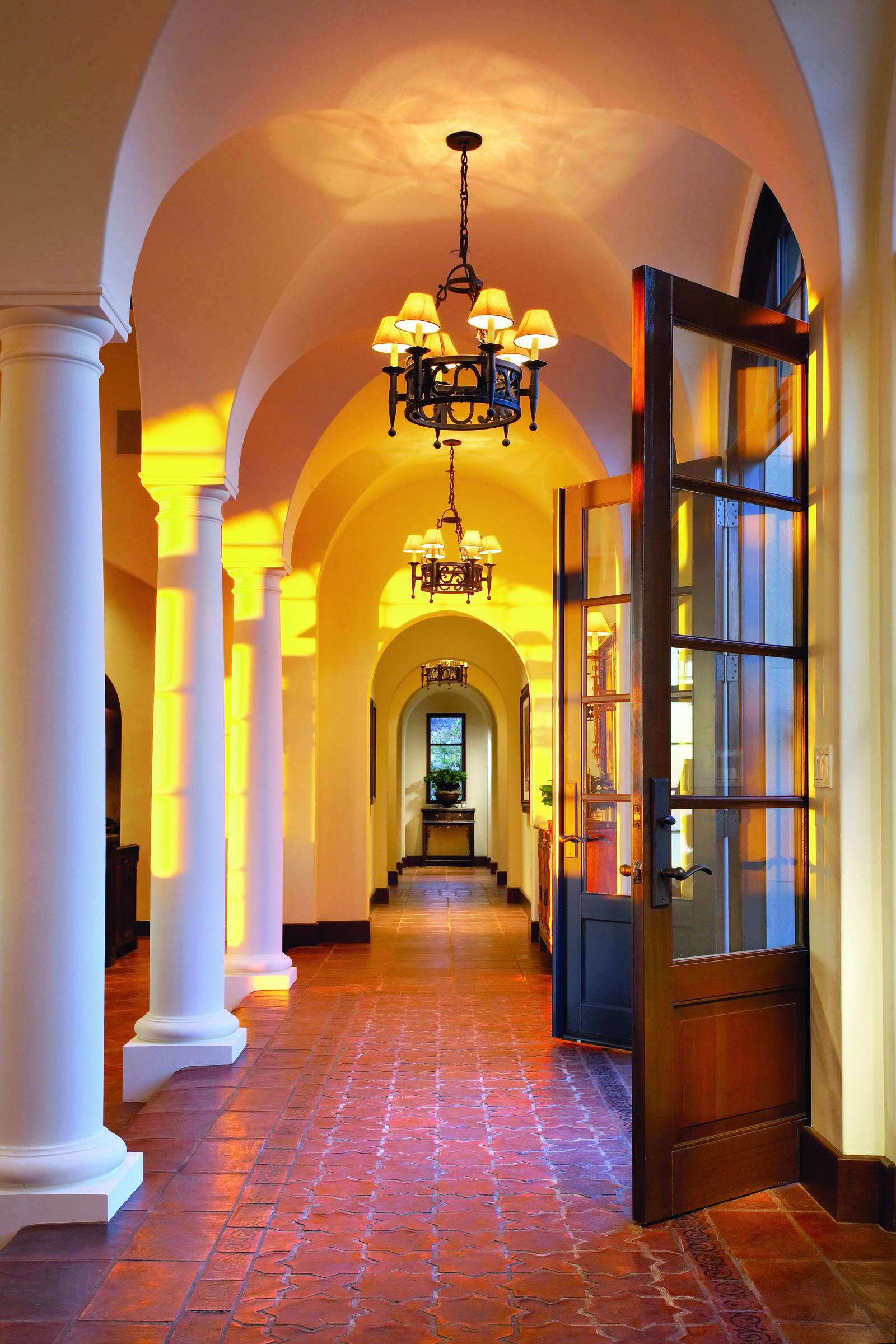 Robert Hidey, French doors entryway