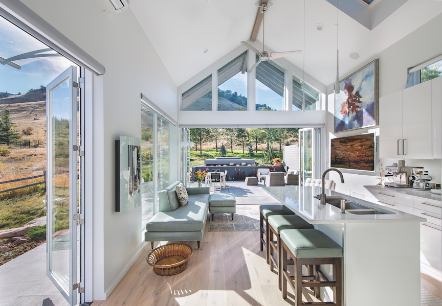 Small-custom-home-open-floor-plan-white interior