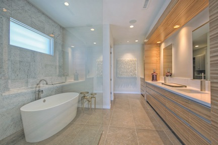 Master bath by Cullum Homes, Scottsdale, Ariz.