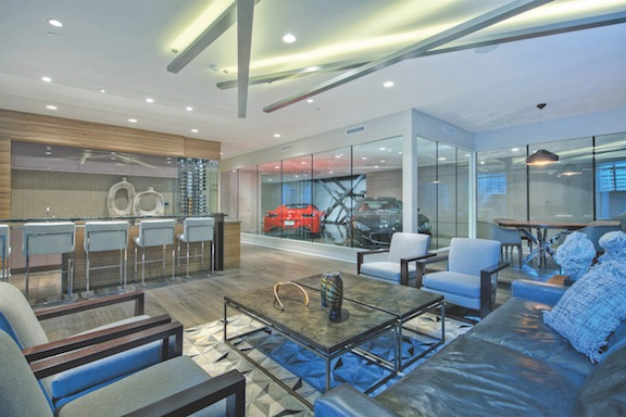 """Car bar"" by Cullum Homes, Scottsdale, Ariz."