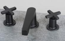Black Modern style bathroom faucets by Newport Brass