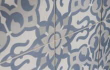 Duquesa Cement Fatima tile pattern