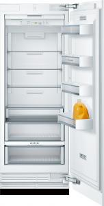 Bosch Benchmark refrigerator with custom panel single door