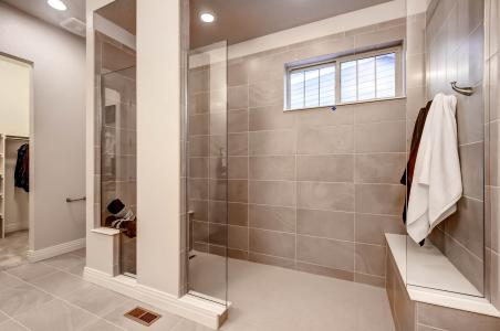 Universal Design. Dan Morrison. Curbless Shower, No Door, Bench Seats At  Each End