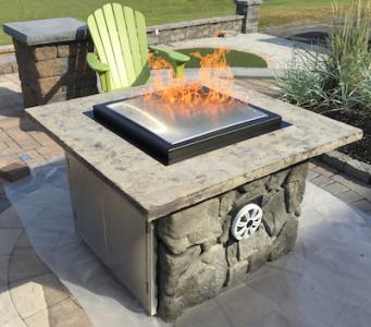 Coyote Outdoor Living Dancing Outdoor Fireplace