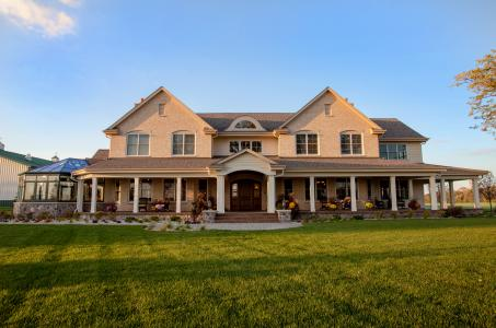 Porch on a home by Regency Builders